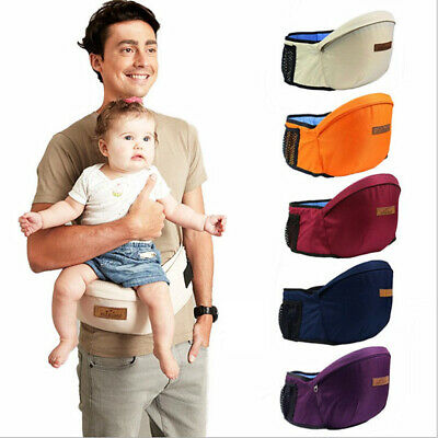 Newborn Baby Toddler Carrier Kids Infant Hip Seat Waist Stool Walker Chair AU