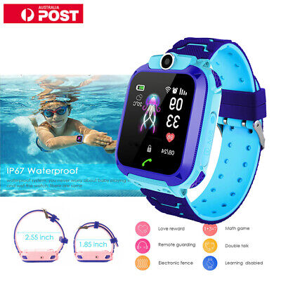 AU  Waterproof Smart Watch GPS Tracker SOS Call Kids For Android IOS Phone Gifts