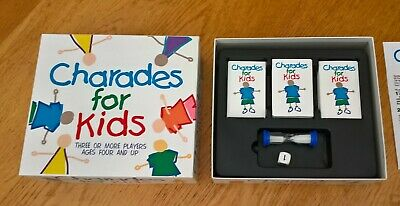 Charades for Kids Paul Lamond Games Used Complete in good condition