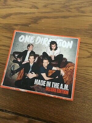 ONE DIRECTION - MADE IN THE A.M. (DELUXE EDITION) CD Harry Styles Digipak