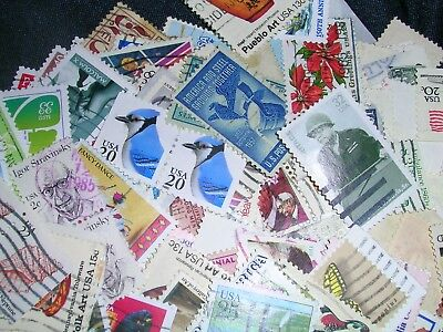 America - U. S.A. Postage Stamps over 200 stamps mixed in great cond
