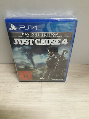 Just Cause 4 day one edition ps4 neu verpackt in folie