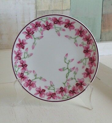 Australian Fine China State Flowers Queensland Cooktown Orchids Plate Nikulinsky
