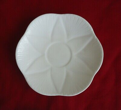 Vintage Art Deco Shelley England Replacement Saucer *Dainty White