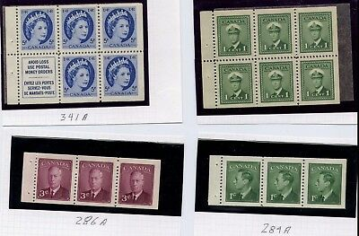 Canada 4 Different Panes Mnh
