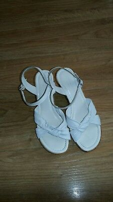 09f4ddb58 PRE-OWNED LADIES TOPSHOP Mint Green Sandals Size 5 - EUR 3