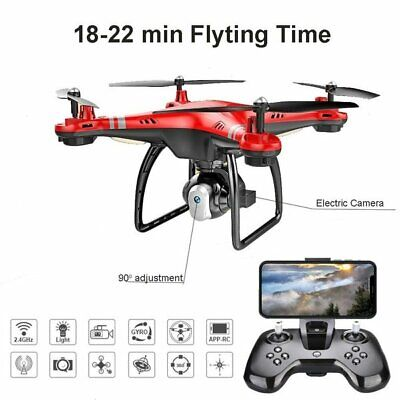 X8 RC Drone with HD 3MP Camera Altitude Hold Headless Mode 2.4G RC Quadcopter Q7