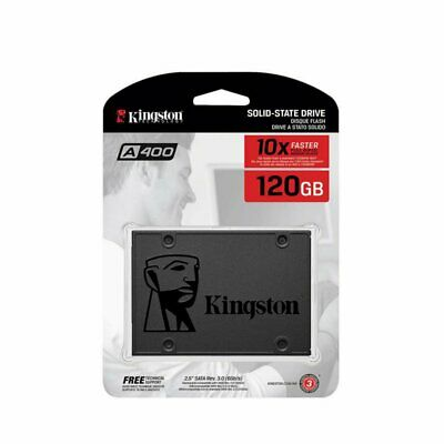 For Kingston A400 SSD 120GB SATA III Internal Solid State Drive SA400S37/120G