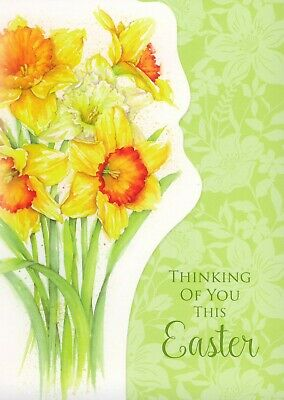 Thinking of you this Easter - pack of 5 small easter cards