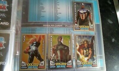 Topps 2010 Marvel Hero Attax  4 Limited Editions * Mint