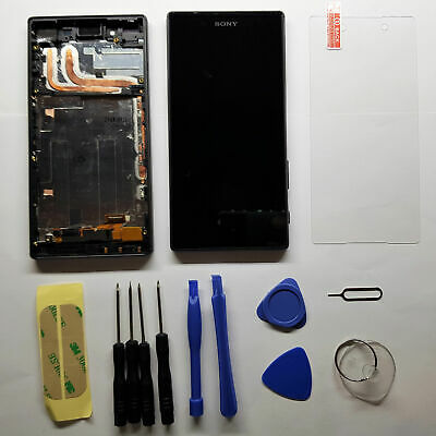Sony Xperia Z5 E6653 E6633 E6603 Original LCD Display Touch Screen Schwarz Black