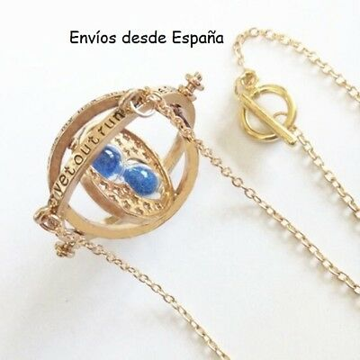 Collar giratiempo Hermiones Harry Potter - Time Turner necklace