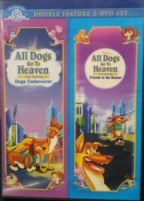 All Dogs Go To Heaven Dogs Undercover/ Friends To The Rescue DVD i New