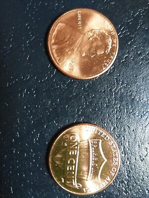2019 P&d Lincoln Shield Cents  Set Of 2