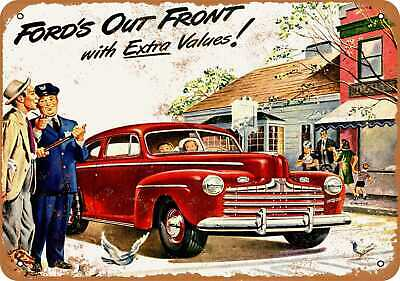 Metal Sign - 1946 Ford - Vintage Look Reproduction 2