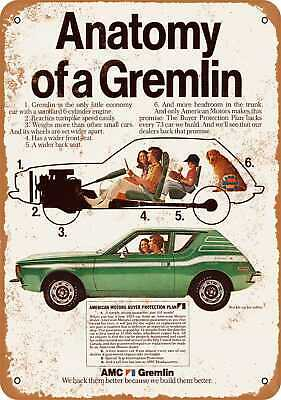 Metal Sign - 1973 AMC Gremlin - Vintage Look Reproduction 2