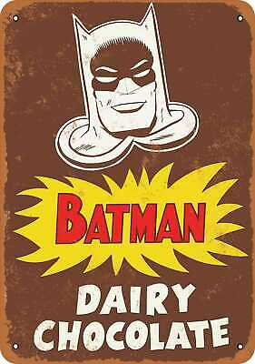 Metal Sign - 1964 Batman for Dairy Chocolate Milk - Vintage Look Reproduction