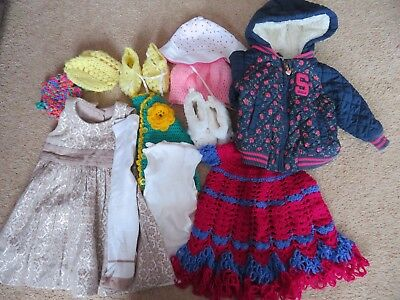 Baby Girl Clothes Bundle 0-3, 3-6, 6-9, 12 pieces, new and used