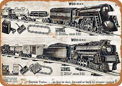 Metal Sign - 1946 Lionel Toy Trains - Vintage Look Reproduction
