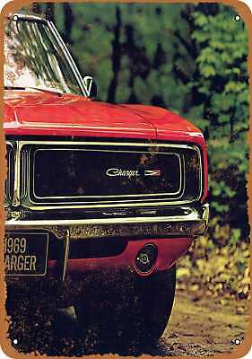 Metal Sign - 1969 Dodge Charger - Vintage Look Reproduction 4