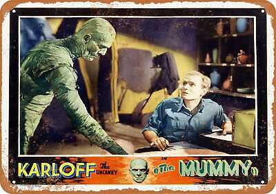 Metal Sign - 1932 The Mummy Movie - Vintage Look Reproduction