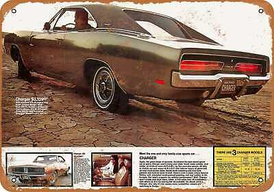 Metal Sign Vintage Look Reproduction 1969 Dodge Coronet 440