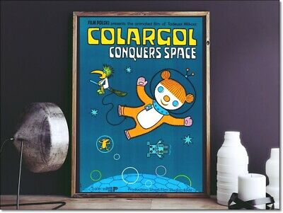 Polish Poster COLARGOL CONQUERS SPACE aka JEREMY, BARNABY - kids room poster.