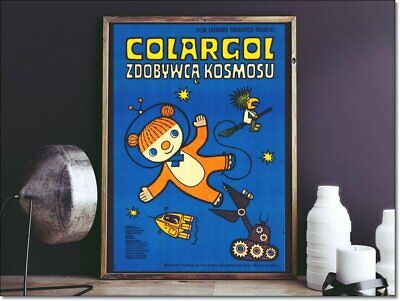 Polish Poster Colargol, the Conqueror of Space aka JEREMY the Bear, BARNABY