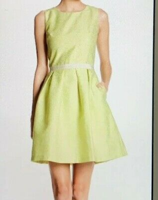 90892d29ce1 ERIN ERIN FETHERSTON White Fit   Flare Sienna Dress - Size 12 NWT ...