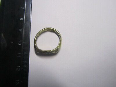 Ancient silver ring Metal detector finds 100% original