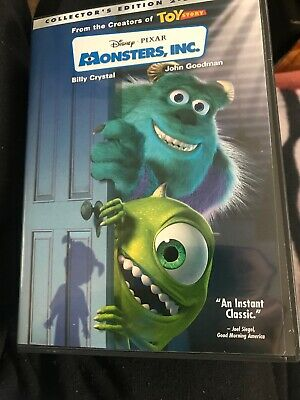 Monsters, Inc. (DVD, 2002, 2-Disc Set, Collectors Edition)