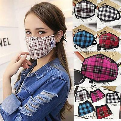 Fashion Unisex Health Cycling  Anti-Dust Cotton Mouth Face Masks Respirator  P0H