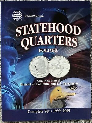1999-2009 State Quarter Uncirculated Set MS Statehood/Territories 56 Coins