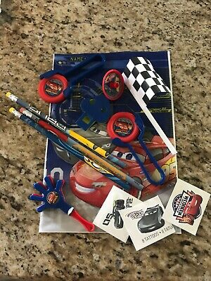 Disney Pixar Cars 3 Party Favor Supplies Goody Bags Loot Bags Gift Candy Bags