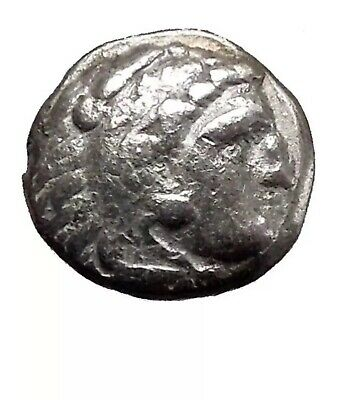 Alexander III the Great - King of Macedonia: 336-323 B.C. Silver Drachm 17mm