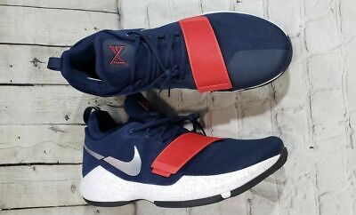 quality design beb80 cd83b NEW Nike PG 1 Paul George Basketball Shoes Navy Red USA Men s Sz 18 (878627