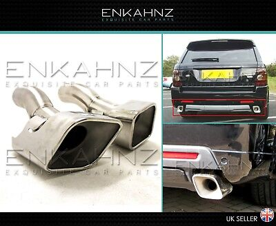 Range Rover Sport Autobiography Style Diesel Exhaust Tips  L320 High Quality