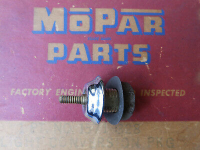"1941 1946 1947 1948 Plymouth NOS ""Dummy"" knob mount OEM Chrysler MoPaR"