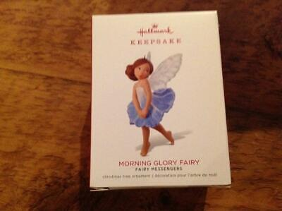 Hallmark Keepsake Ornament 2018 Fairy Messengers Morning Glory Fairy 14th Series