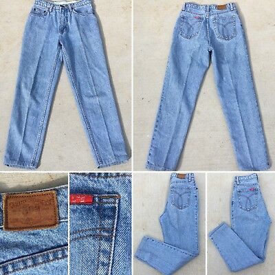 """cdc1d3e3 Vintage Jag Jeans High Waist Tapered Leg Size W 28 27"""" Waist Mom Jeans"""