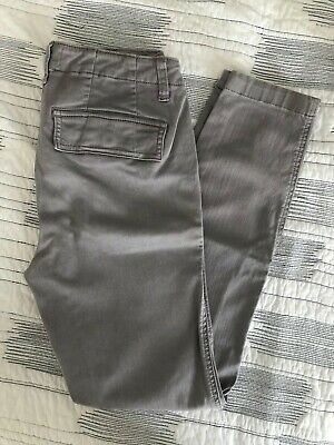 1bcd8f2eff J.Crew Cargo Toothpick Pant Orchid Smoke Grey Skinny Pants Womens Size 26