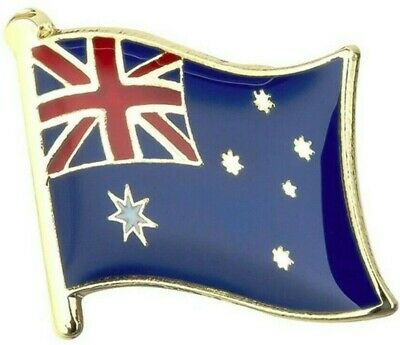 Australia Flag Badge Lapel Pin - Aussie Flag Enamel Tie Pin Anzac Day Aussie Pin