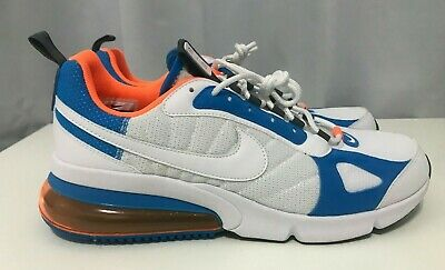 online store d5d1b 3118c NIKE AIR MAX 270 Futura Men's Sz 11.5 White/Orange/Blue (AO1569-100)