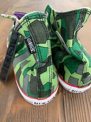 RARE New Converse x Gorillaz 2011 Camo Chuck Taylor All-Star Men's 11 Deadstock