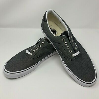 5cf3d0f028 VANS ERA 59 C L Chambray Black Men s 13 Skate Shoes VN0A38FSMML ...