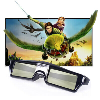 Active Shutter 3D Glasses 3D-Ready for DLP-Link Projector Optoma BenQ Acer Epson
