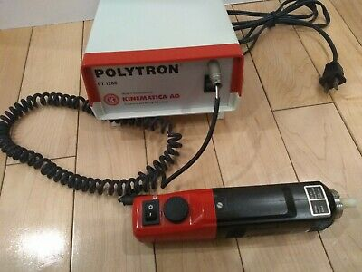 Polytron Kinematica PT 1200 Handheld Homogenizer Great working condition