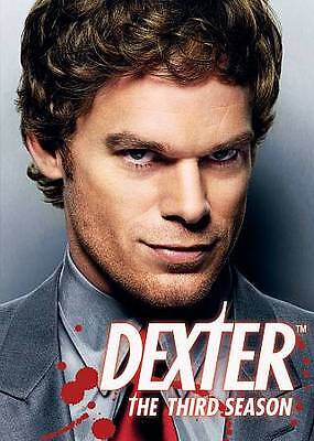 Dexter - The Complete Third Season (DVD, 2009) FREE SHIPPING NEW!