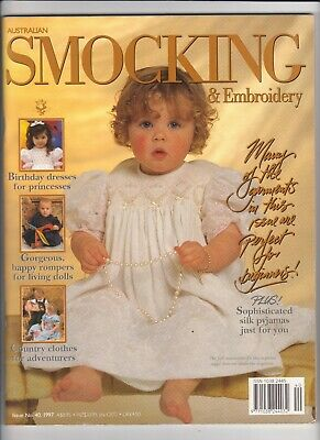 Australian Smocking & Embroidery - Issue No 40 - 1997