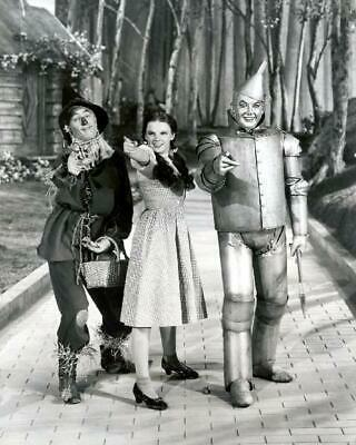 The Wizard Of Oz Judy Garland Ray Bolger Jack Haley 8x10 Photo (WO-5)